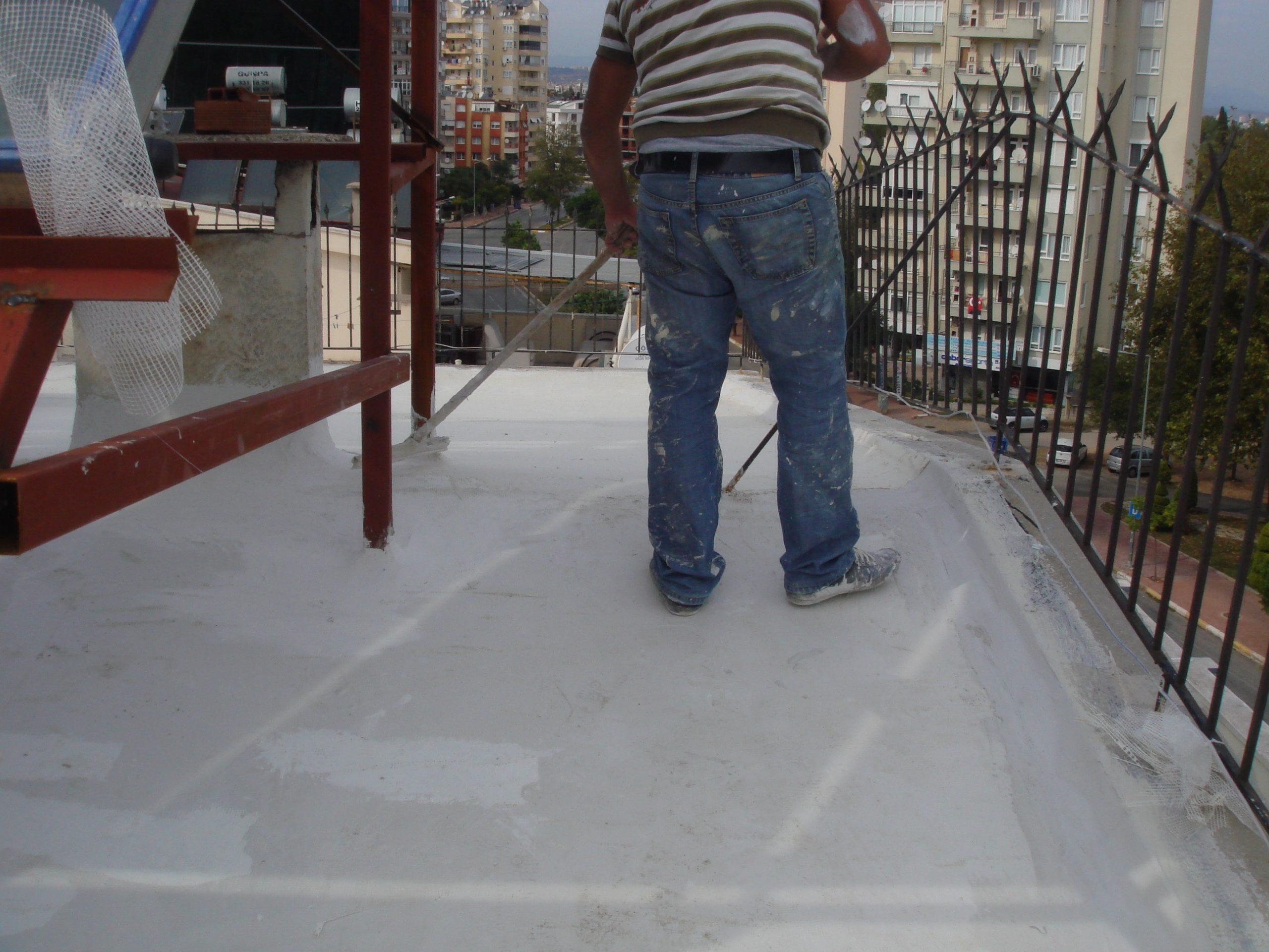 Teras Çatı Yalıtım Uygulaması