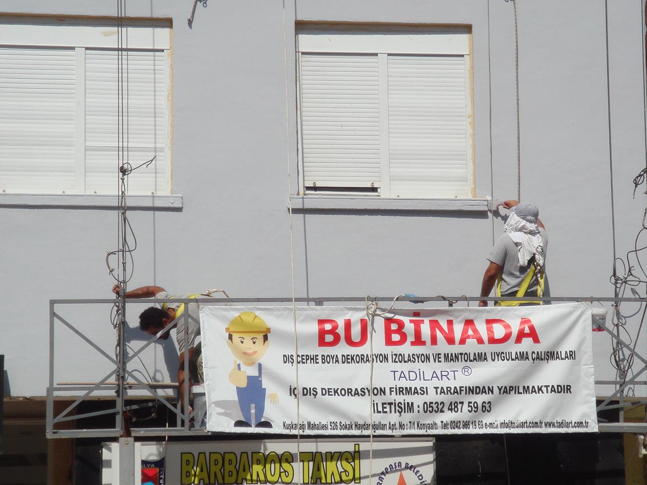 Antalya Dış Cephe Boyacı Firmaları