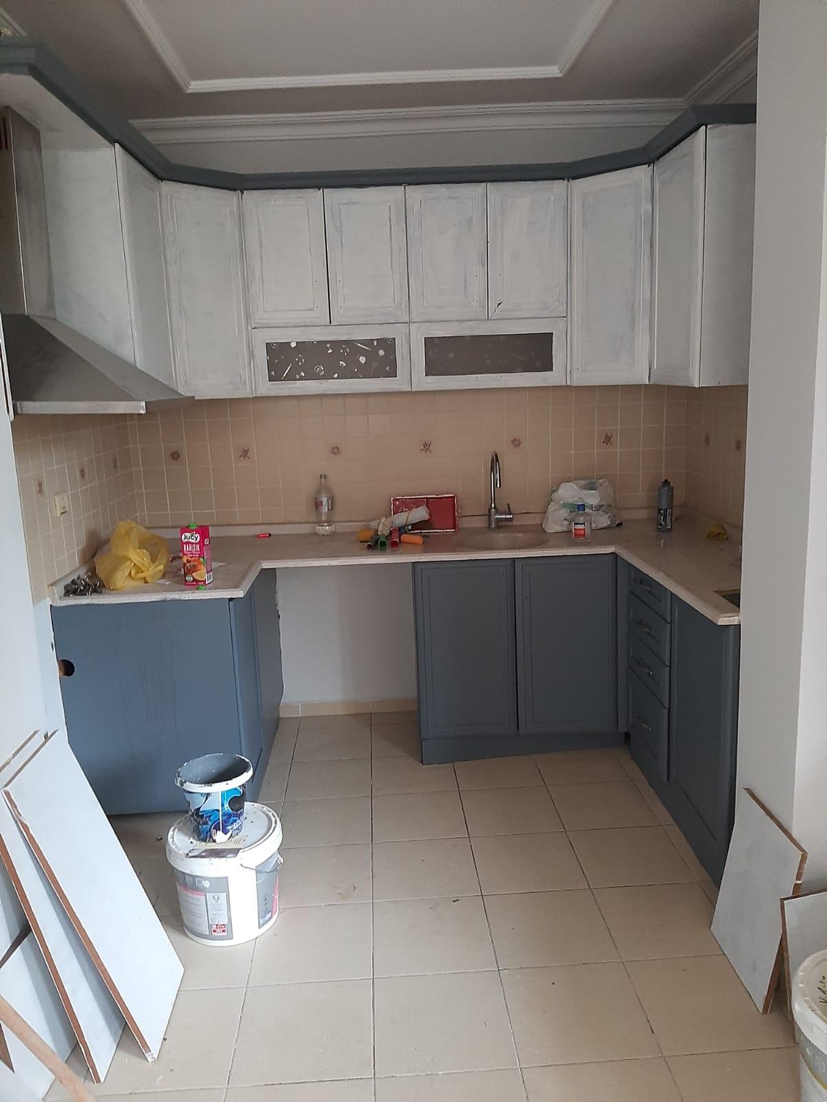 Mutfak Dolapların Boyanması