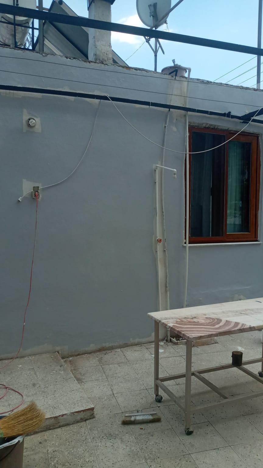 Müstakil Ev Çatı Yalıtımı ve Dış Cephe Boya